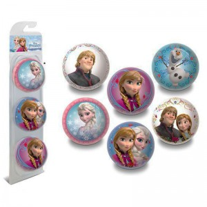 Disney Frozen blister 3 units 6cm ball assorted
