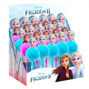 Disney Frozen 2 assorted pompom pen