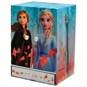 Disney Frozen 2 musical closet jewelry box