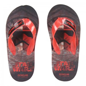 Star Wars full print flip flops