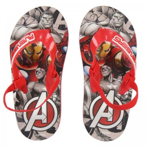 Marvel Avengers full print flip flops