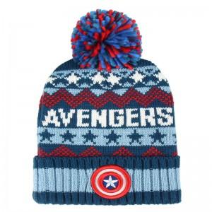 Marvel Avengers premium jacquard bobble hat