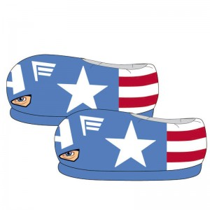 Avengers Marvel Captain America 3D slippers