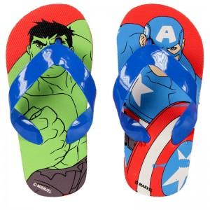 Chanclas Vengadores Avengers Marvel Hulk Captain America