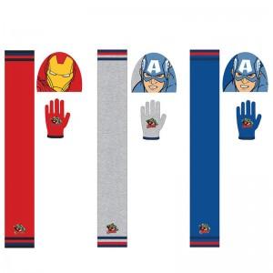 Marvel Avengers Winter Set scarf bonnet gloves assorted