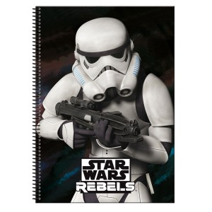 Star Wars Stormtrooper A4 notebook 80 sheets.