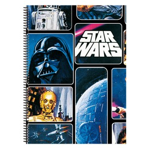 Star Wars A4 notebook 80 sheets.