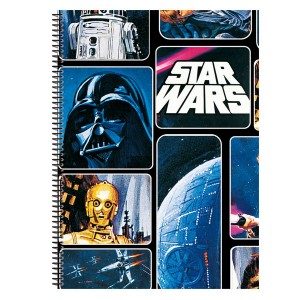 Star Wars A5 notebook 80 sheets.