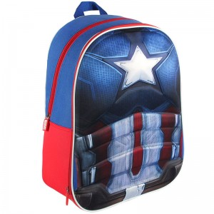 Captain America Marvel 3D EVA backpack 40cm