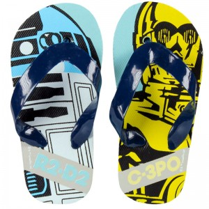 Chanclas Star Wars Disney R2-D2 C-3PO