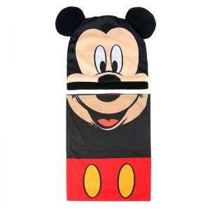 Disney Mickey winter set snood hat