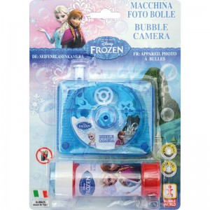 Disney Frozen bubble camera + bottle bubbles
