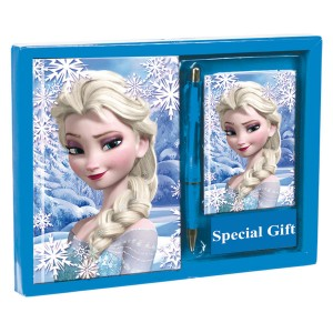 Frozen Heart set diary + address book