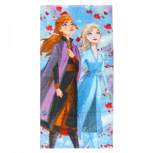 Disney Frozen 2 Anna and Elsa cotton towel