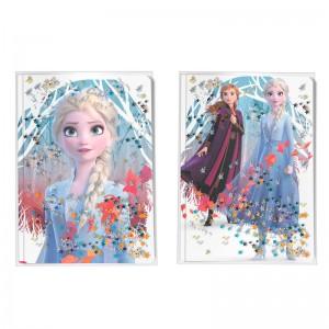 Disney Frozen 2 water effect diary