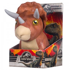 Jurassic World Triceratops Dinosaur plush toy 25cm