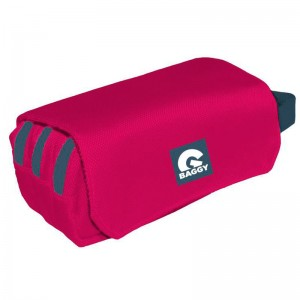 Baggy Fuchsia pencil case with flap