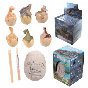 Baby Dinosaur in egg dig it out kit