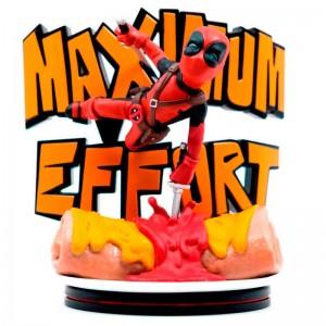 Marvel Deadpool maximum effort diorama figure 14cm