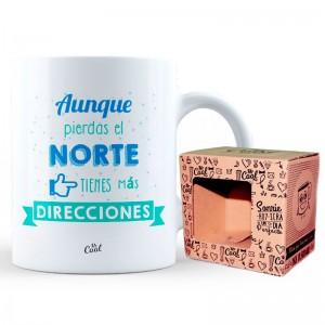 Aunque Pierdas el Norte mug