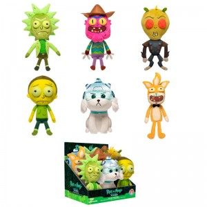 Rick & Morty assorted soft plush toy 18cm