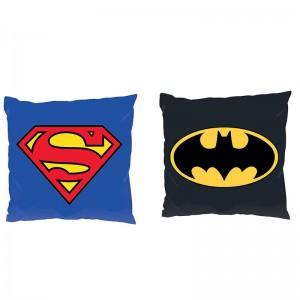 Batman Superman DC logo assorted cushion