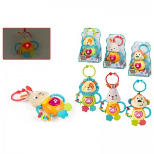 Assorted electronic musical rattle