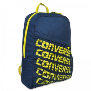 Converse Marine blue Letters backpack 44cm