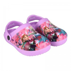 Disney Frozen full print beach clog