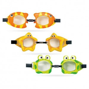 Assorted animal swimming goggles