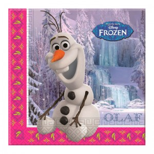 Disney Frozen set 20 napkins