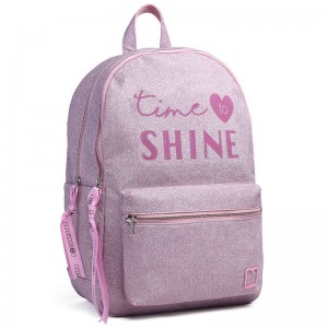 Marshmallow Shine in Pink backpack 45cm