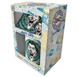 DC Comics Joker mug keychain gift set