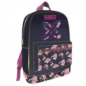 Munich Flowers backpack 44cm