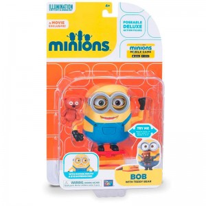 Minions Bob with Teddy Bear 12cm figure