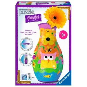 3D Puzzle Owl vase 216pz