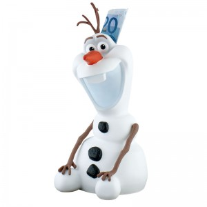 Disney Frozen Olaf money box figure