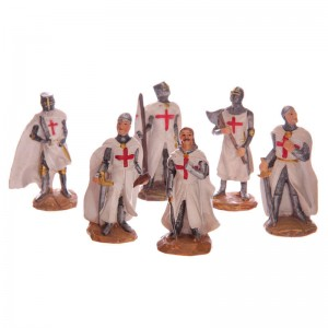 Battle Ready Crusader Knight assorted figure