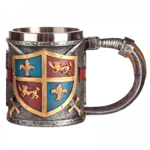 Coat of Arms and Sword tankard