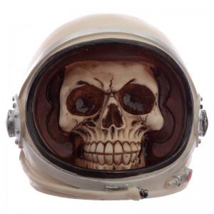 Astronaut Spaceman Skull Head figure