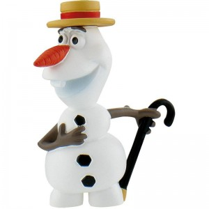 Disney Frozen Summer Fever Olaf with hat figure