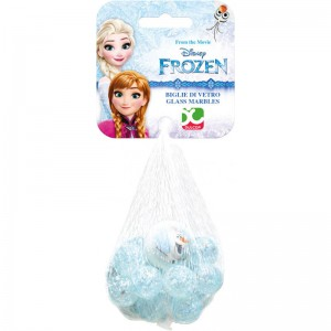 Glass Marbles bag Disney Frozen