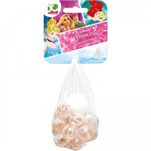 Glass Marbles bag Disney Princess