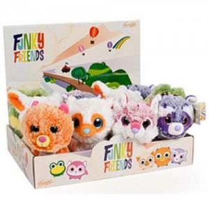Assorted Funki Friend plush toy 14cm