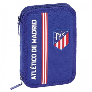 Atletico Madrid Blue double pencil case 34pcs