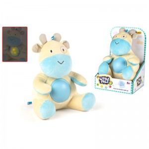 Patch giraffe plush toy with light and sound