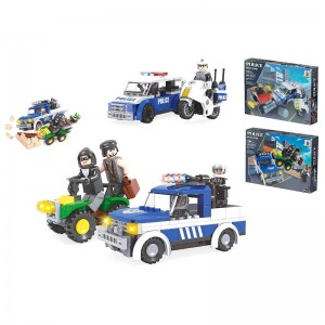 Police Justice Patrol assorted building game