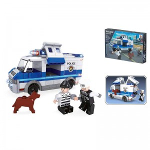 Police Justice Patrol building game