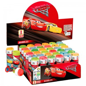 Disney Cars 3 assorted bubbles