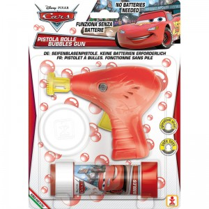 Disney Cars bubble gun + bottle bubbles